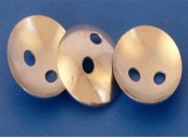 Disc (Lacing), Concave for use with 33D hook - Steel, Zinc Plate: CEVaC IF5700