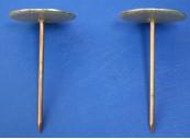 Weldpin / washer head 38 x 2.7 diameter Coppered Steel, Insulated Shank: CEVaC IF54111