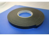 Tape - Gasket (Black Polyethylene) 6mm x 20mm x15M: CEVaC DA6445