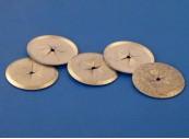Washer (Lock) for Insulation Hangers, 30mm diameter, steel, galvanised CL 2-30: CEVaC IF5058
