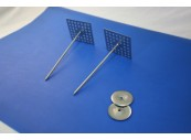 Perforated Base Hanger, Stainless Steel, 114mm pin GSP-SS114 complete with Washer: CEVaC IF5180
