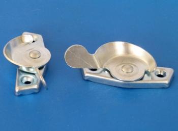 Fitch Fastener complete with Hook, Mild Steel, Bright Zinc Plate: CEVaC DA6021