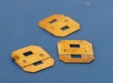 Fusible Link, Brass 72 degrees, 47 Length x 13 Width x 35mm Pin Centers: M6 fixing: CEVaC DA6201