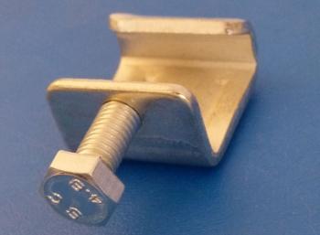 Flange G Clamps MS BZP 2.5mm thick - UFC-25: CEVaC DA6499