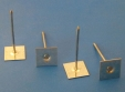 Insulation Fastener, Plain base (small), Galvanised Steel MINI-PSC-63B: CEVaC IF5070
