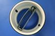 Flap Fire Damper Valve 100mm dia (In-line): CEVaC DA6095