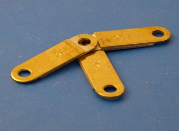 Fusible Link Heavy Duty Brass, 72 degrees, Pin Centre 63mm - 82mm long: CEVaC DA6207