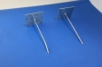 Self Adhesive Hanger, Aluminium, 40mm pin SAP-40B complete with washer 500s: CEVaC IF5030