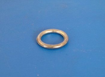 "Lacing Ring 11/16"" diameter. Mild Steel, Bright Zinc Plate: CEVaC IF5400"