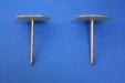 Weldpin / washer head 58 x 2.7 diameter Coppered Steel, Insulated Shank: CEVaC IF54111