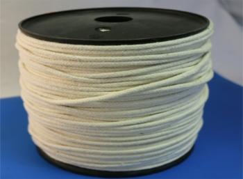 Cord, Braided Cotton 4mm diameter x 200M Reel: CEVaC IF5506